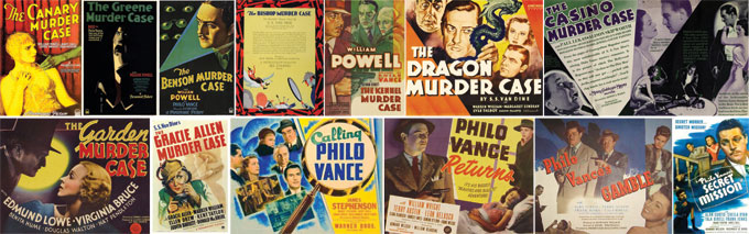 THE PHILO VANCE FILM COLLECTION - ONESMEDIA
