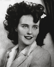 Elizabeth Short was the victim in the notorious Black Dahlia Case