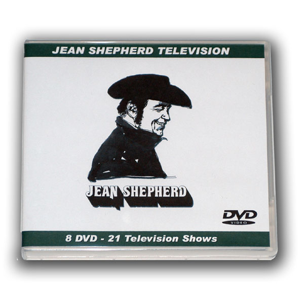 JEAN SHEPHERD 8 DVD TV SHOWS COLLECTION